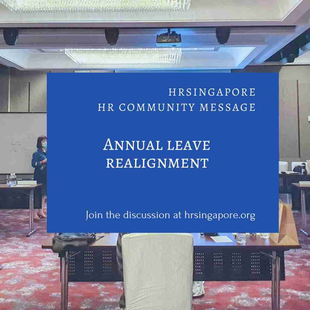 HR Community - Annual Leave Realignment