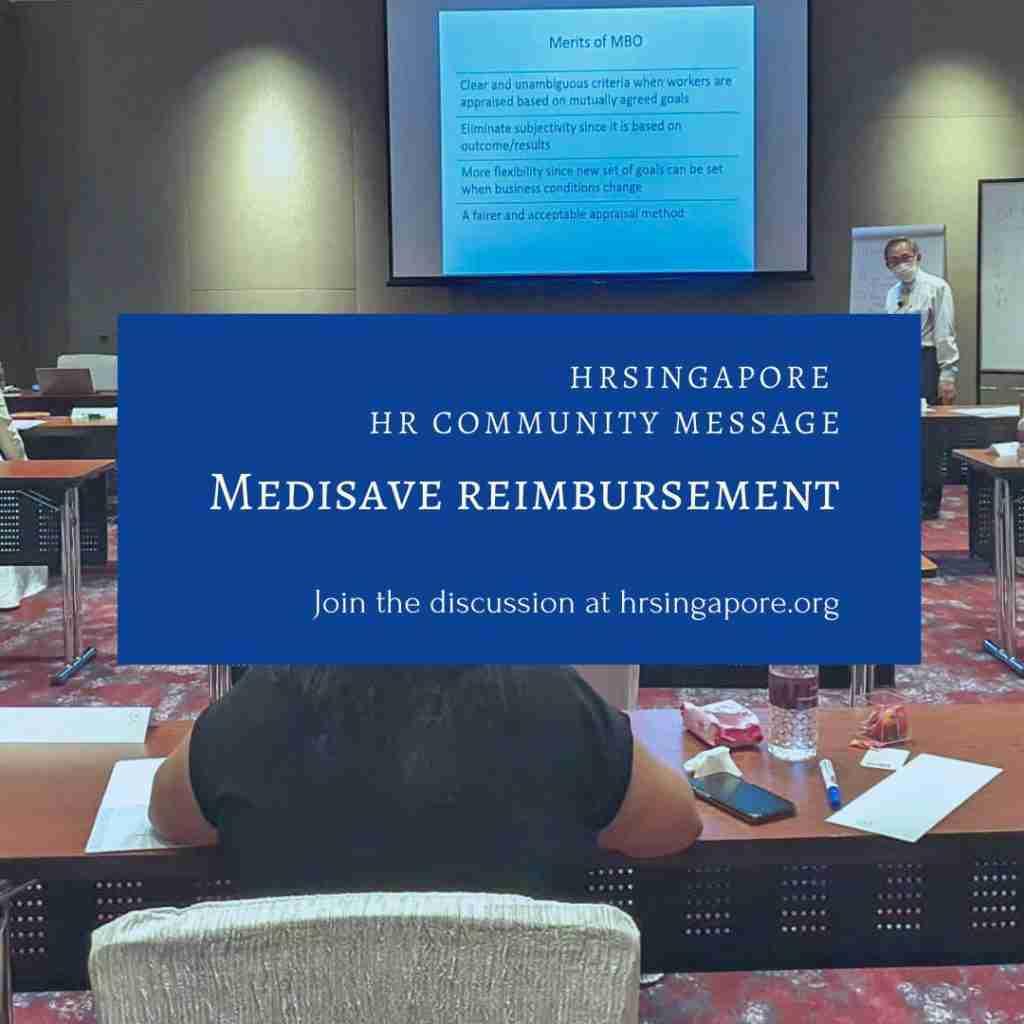 HR Community - Medisave Reimbursement
